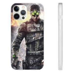 Splinter Cell Blacklist Sam Fisher 4E Goggles iPhone 12 Case