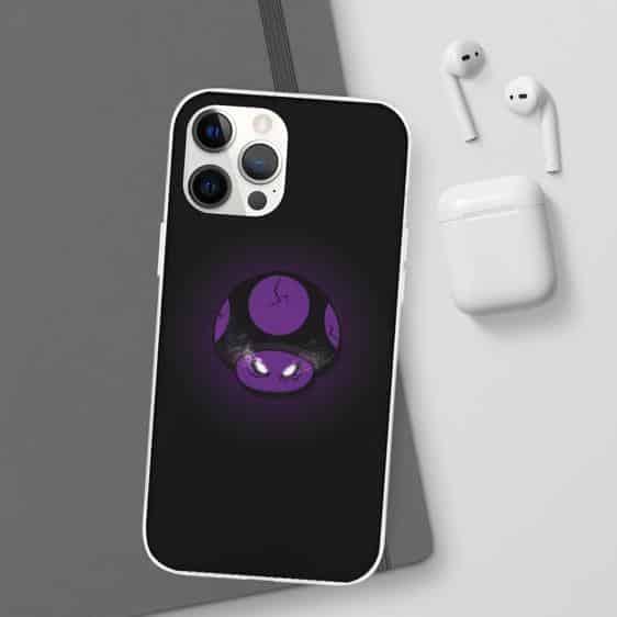 Super Mario Purple Cursed Poison Mushroom iPhone 12 Case
