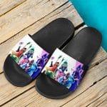 Teen Titans Robin & Squad Artwork Unique Slide Sandals