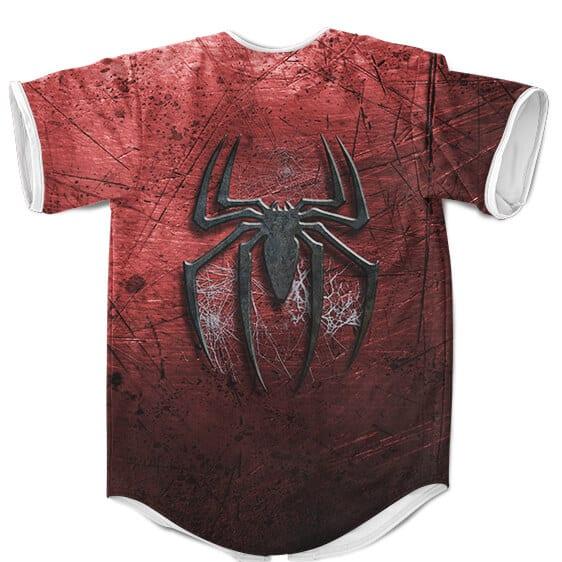 The Amazing Spider-Man Inspired Design Cool Baseball Uniform