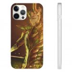 The Dark World Loki Fan Art iPhone 12 Fitted Cover