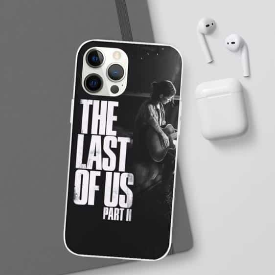 The Last of Us Part 2 Ellie Playing Guitar iPhone 12 Cover