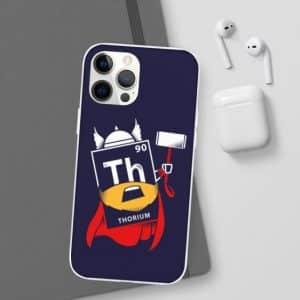 Thorium Chemical Element Thor Parody iPhone 12 Cover