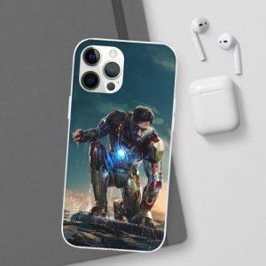 Tony Stark Iron Man III Movie Scene iPhone 12 Case