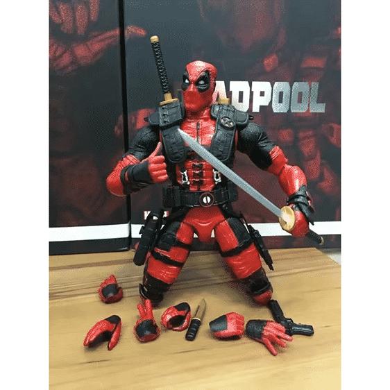 Unique Marvel Comics Antihero Deadpool Action Figure