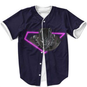 Wakanda Forever Black Panther Neon Pink Art Cool MLB Jersey