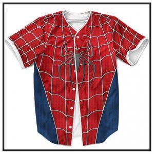 Marvel Superhero Baseball Jerseys