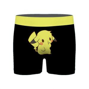 Adorable Pikachu Electric Type Pokemon Men's Boxer Shorts
