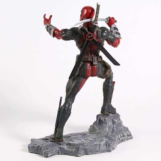 Antihero Deadpool Fighting Stance Statue Toy Figure
