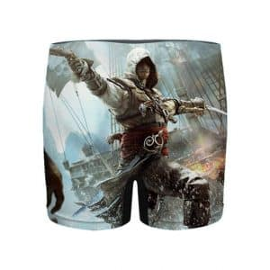 Assassin's Creed IV Black Flag Edward Kenway Men's Boxers