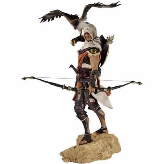 Assassin's Creed Origins Bayek with Senu Statue Figure