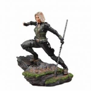 Avengers Black Widow Electroshock Stick Weapon Statue Toy
