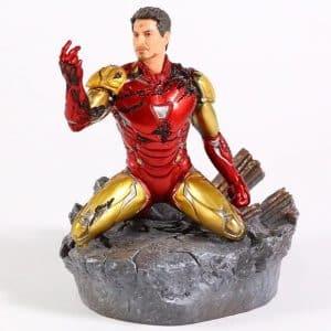 Avengers Endgame Iron Man MK85 Damage Armor Statue Figure