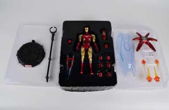 Avengers Endgame Iron Man MK85 Energy Shield Action Figure