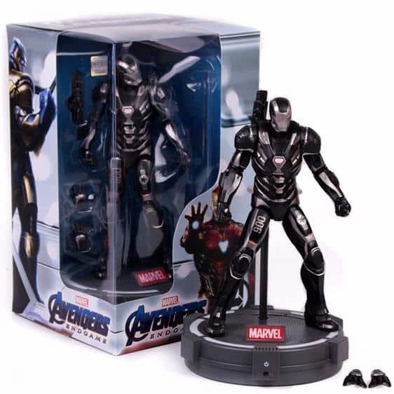 Avengers Endgame War Machine Suit Movable Action Figure
