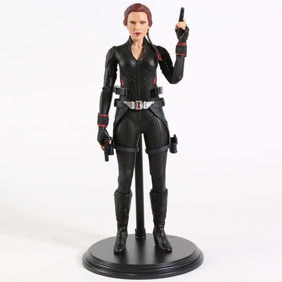 Avengers S.H.I.E.L.D Agent Black Widow Statue Model Toy