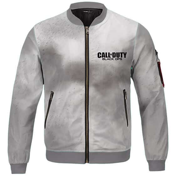 Fearless Special Forces Call Of Duty Dust Gray Bomber Jacket