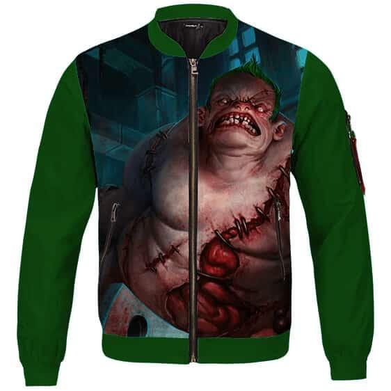 Dota 2 Pudge The Butcher Amazing Green Varsity Jacket