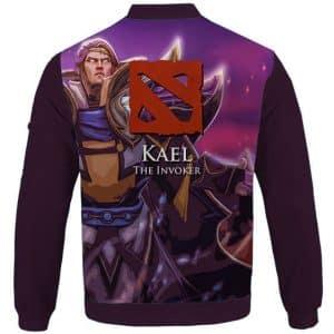 Awesome Kael The Invoker Dota 2 Purple Letterman Jacket
