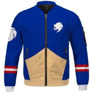 Stunning Sonic The Hedgehog Costume Cosplay Bomber Jacket