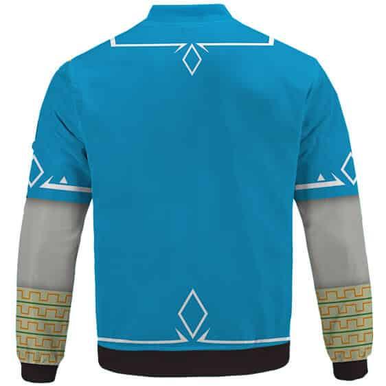 Legend Of Zelda Breath Of The Wild Link Cosplay Bomber Jacket