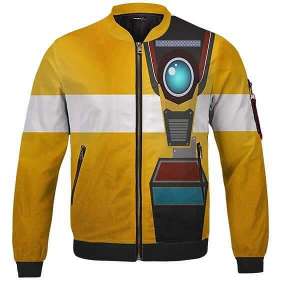 Borderlands Claptrap CL4P-TP Cosplay Costume Bomber Jacket