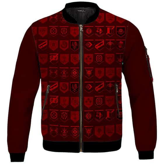 Stunning Destiny 2 Crucible Achievements Red Bomber Jacket
