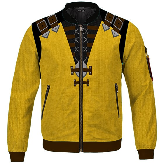 Mortal Kombat Scorpion Costume Cosplay Bomber Jacket
