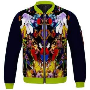 Awesome Smash Bros Trippy Artwork Design Varsity Jacket