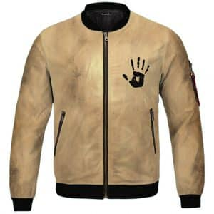 Skyrim Dark Brotherhood Invitation Logo Bomber Jacket