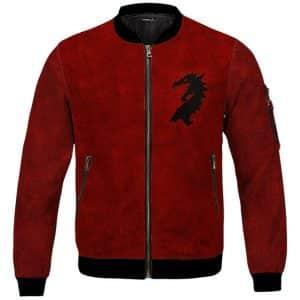 Ebonhearth Pact Emblem The Elder Scrolls Red Bomber Jacket