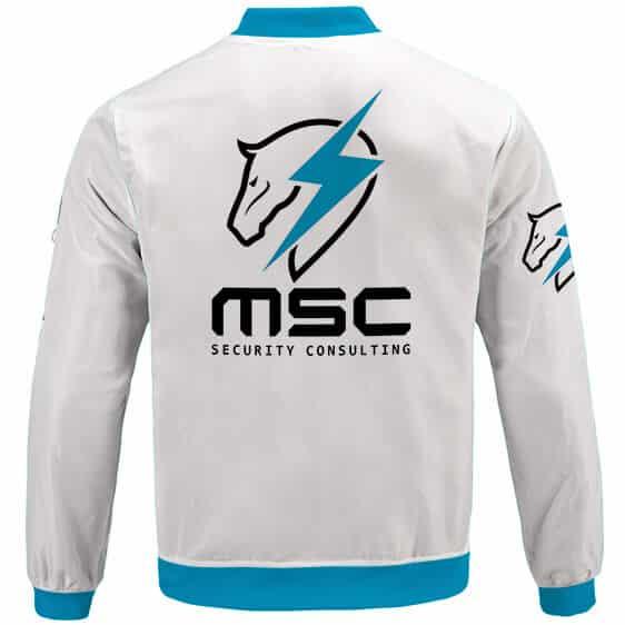Metal Gear Rising Maverick Security Consulting Varsity Jacket