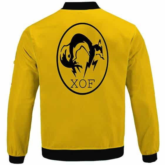MGS The Phantom Pain XOF Black Ops Logo Bomber Jacket