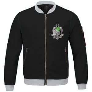 MH World Hunters Association Emblem Letterman Jacket