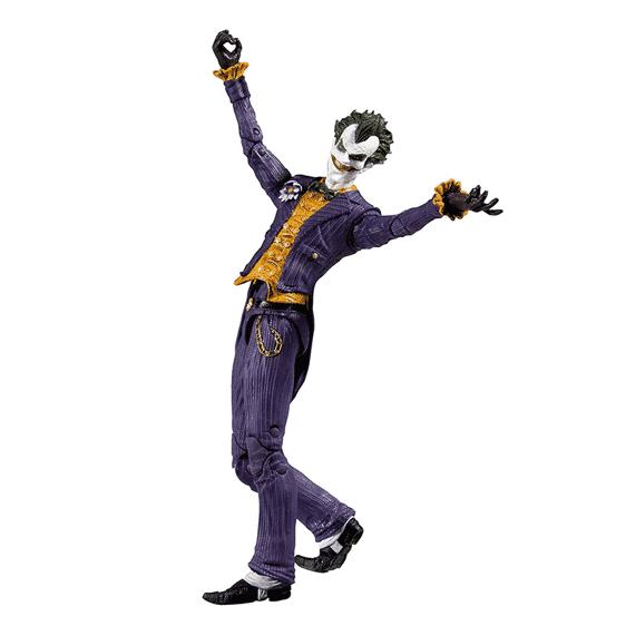 Batman Arkham Asylum Villain Joker Movable Toy Figure