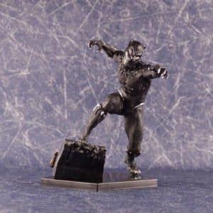 Black Panther Vibranium Suit Marvel Statue Model Figure