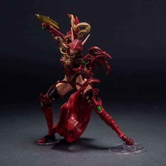 Blood Elf Rogue Valeera Sanguinar WOW Statue Figure
