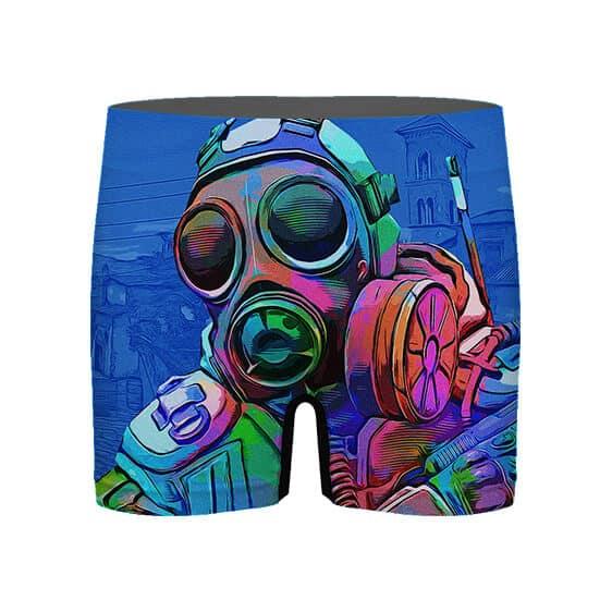 CSGO Counter Terrorist Vibrant Artwork Men's Underwear