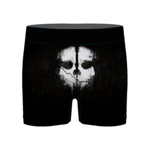 Call of Duty Ghost Simon Riley Skull Logo Men's Boxers