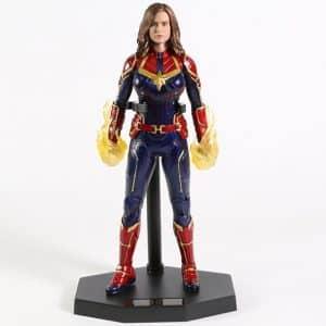 Captain Marvel Carol Danvers Avengers Statue Toy Figure