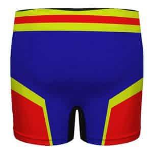 Captain Marvel Suit Costume Style Colorful Men's Underwear