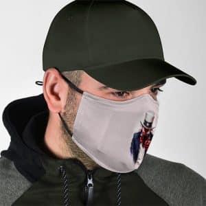 Carnage Supervillain Army Recruit Parody Face Mask