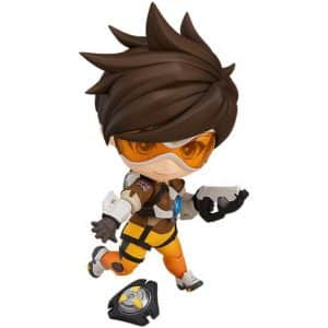 Chibi Overwatch Tracer Lena Oxton Collectible Movable Toy