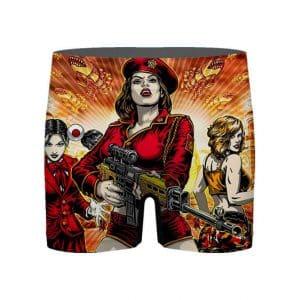 Command & Conquer Red Alert 3 Commando Girls Men's Underwear