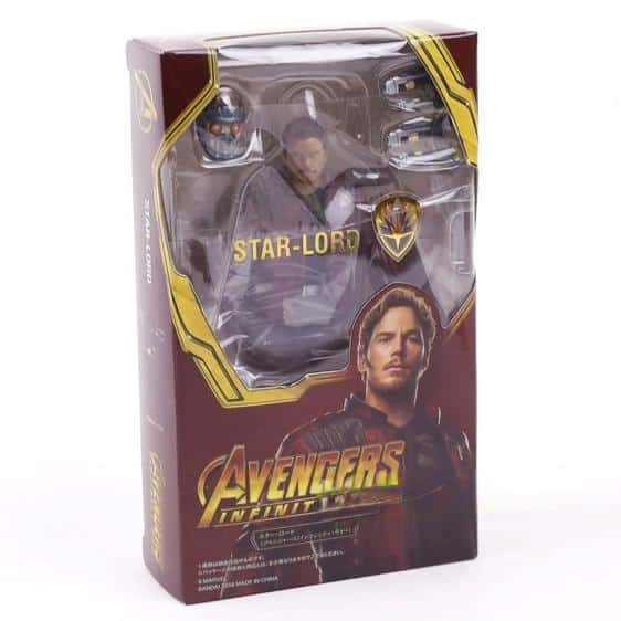 Cool Avengers Infinity War Star-Lord Action Figure
