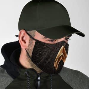 DC Comics Aquaman Spearhead Motif Logo Cloth Face Mask