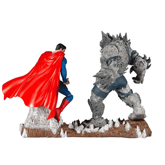 DC Comics Superman Vs The Devastator Batman Statue Figure