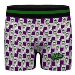 DC Comics The Joker Card Logo Pattern Badass Men's Underwear
