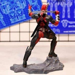 Deadpool Signature Fighting Stance Marvel Static Figure