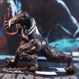 Dope Eddie Brock Venom Symbiote Alien Statue Figure